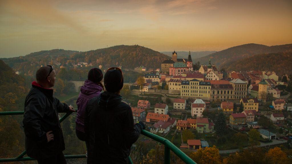 Výlety Karlovy Vary - hrad Loket